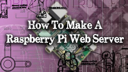 How To Make A Raspberry Pi Web Server