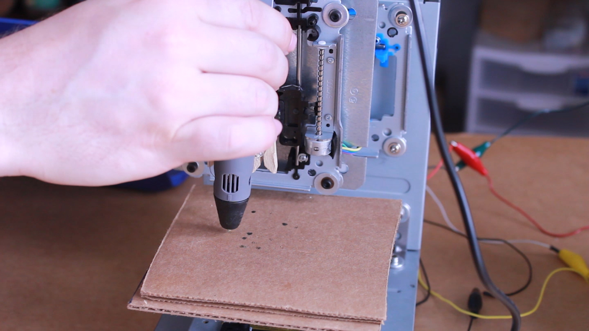 How To Make A Cheap 3D Printer | Tinkernut Labs | The Curious Mind M D Printer Wiring Diagram on