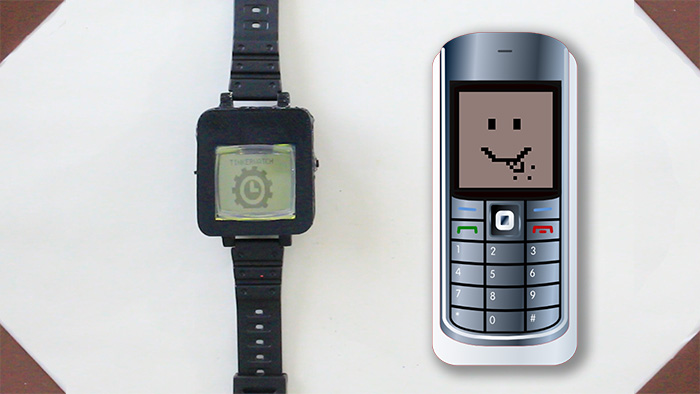 Make Your Own Smartwatch From An Old Cell Phone Tinkernut Labs