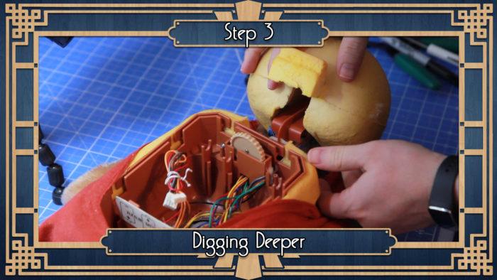 step03 1 e1482357340161 alexa ruxpin raspberry pi & alexa powered teddy bear tinkernut teddy ruxpin wiring diagram at bakdesigns.co